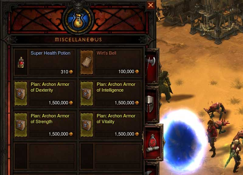 Diablo3 patch 1.07 new Plans