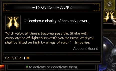 Diablo3 Reaper of Souls Wings of Valor