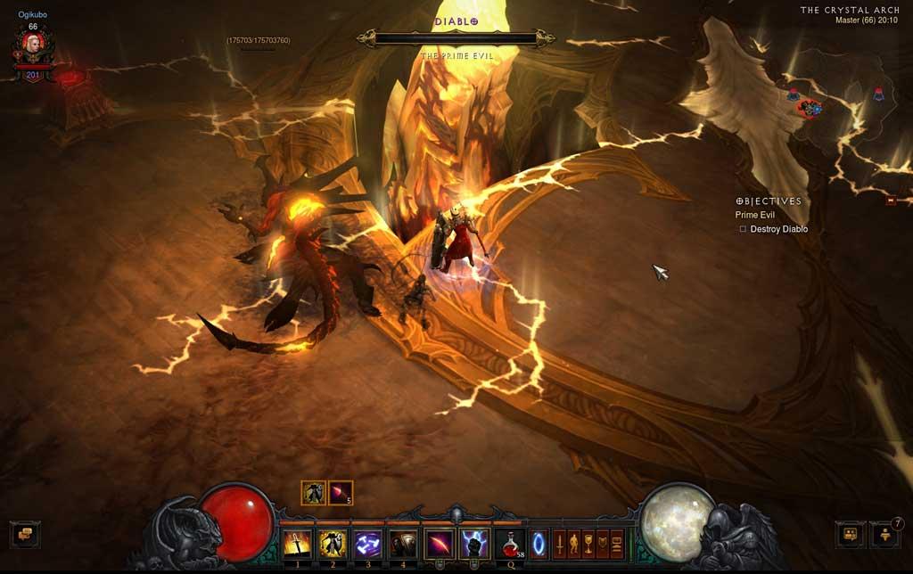 Crusader対Diablo 2