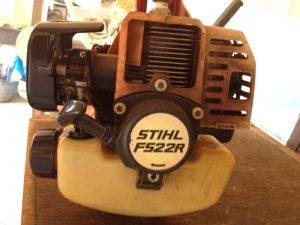 STIHL FS22R 背面